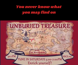 Unburied treasure