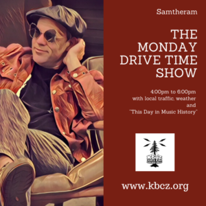 The Monday drive time show